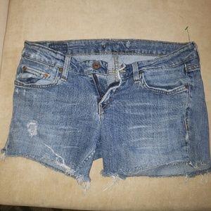 Levi Shorts Womens